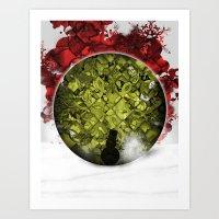 Christmas Spirit 3 Of 4 Art Print