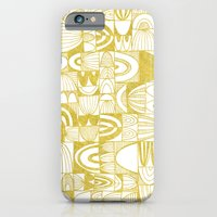Golden Doodle squares iPhone 6 Slim Case