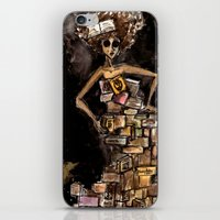 The Magic Of Books iPhone & iPod Skin