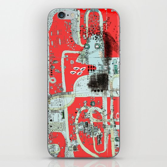 oops iPhone & iPod Skin