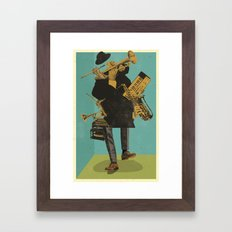 ABSTRACT JAZZ Framed Art Print
