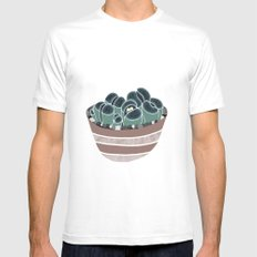 Lithops SMALL Mens Fitted Tee White