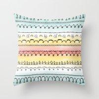 Frills & Fancies Throw Pillow