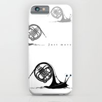 iPhone & iPod Case featuring Just moved.  (French Horn) by bananabread