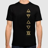 Elements Mens Fitted Tee Black SMALL