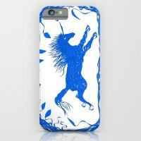 Blue Unicorn 02 iPhone 6 Slim Case