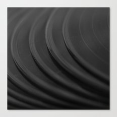 Vinyl I Canvas Print