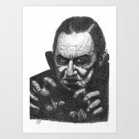 Bela Lugosi Art Print
