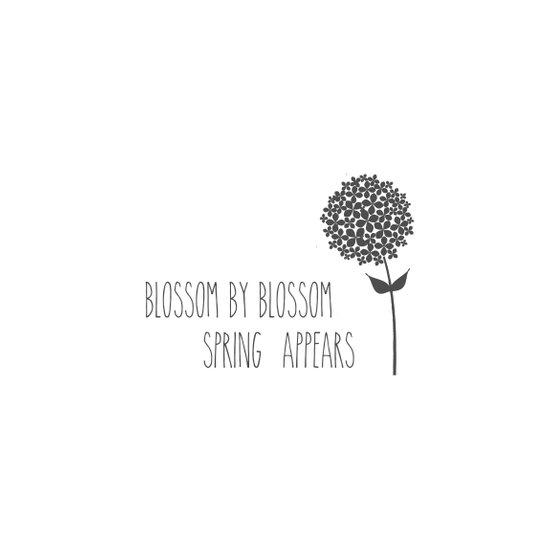 Blossom by Blossom Spring Appears Design Art Print