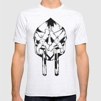 Bandit Doom Mens Fitted Tee Ash Grey SMALL
