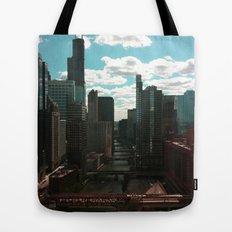 Chicago River View Tote Bag