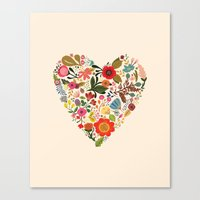 You Make My Heart Grow Canvas Print