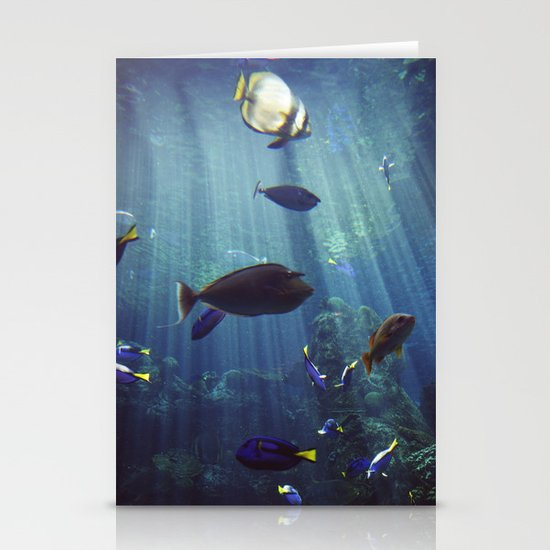 Under the Sea Stationery Card