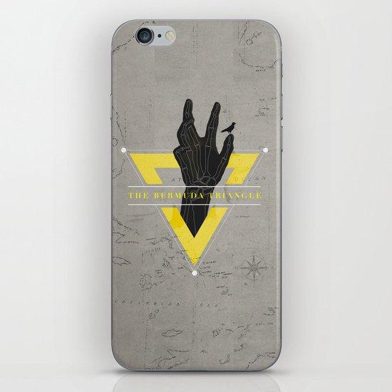 The Bermuda Triangle iPhone & iPod Skin