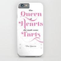 The Queen Of Hearts iPhone 6 Slim Case