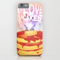 iPhone & iPod Case featuring I Love Pancakes by Elizabeth Cakovan