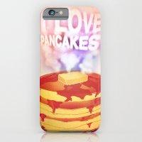 I Love Pancakes iPhone 6 Slim Case