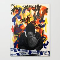 The Issue Canvas Print