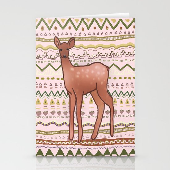 I Deer You to Dream Stationery Card