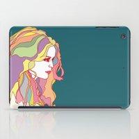 Big Hair Day iPad Case