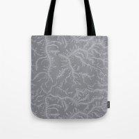 Ferning - Gray Tote Bag