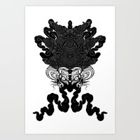 Bride Of Cthulhu Art Print