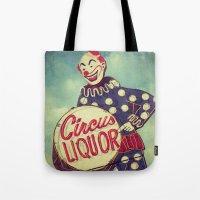 Circus Liquor, N. Hollywood, CA. Tote Bag