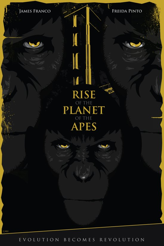 Rise of the Planet of the Apes Art Print
