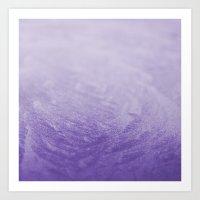 Grape Frost Art Print
