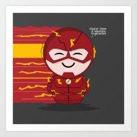 ChibizPop: Faster Than..… Art Print