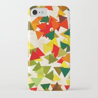 lights iPhone & iPod Cases featuring Lights by SensualPatterns