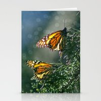 Monarch Moment Stationery Cards