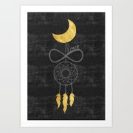 Art Print featuring The Dream Love  by Cafelab