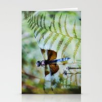 Dragonfly :: Winged Fern Stationery Cards