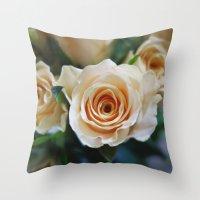 Rose Pattern #2 Throw Pillow