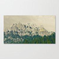 Castle Crags - Californi… Canvas Print