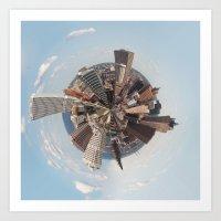 Planet Milwaukee Art Print