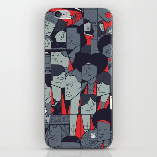 The Warriors iPhone & iPod Skin