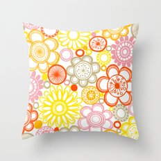 BOLD & BEAUTIFUL sunshine Throw Pillow