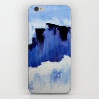 Cold Blue iPhone & iPod Skin