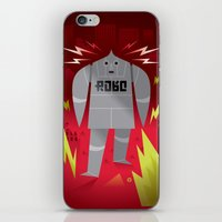 Robo! Destroy! iPhone & iPod Skin