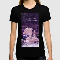 Rattlesnake VS Wolverine Womens Fitted Tee Black SMALL