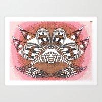 Ubiquitous Bird Collecti… Art Print