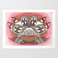Ubiquitous Bird Collection4 Art Print