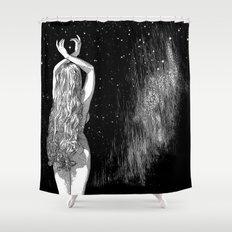 asc 604 - L'invocation à Vénus (Venus under the sky) Shower Curtain