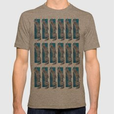 Kitties & Titties No.1 Montage Mens Fitted Tee Tri-Coffee SMALL