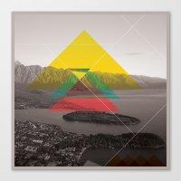 Sojourn Series - Queenst… Canvas Print