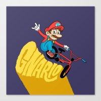 Gnario Canvas Print