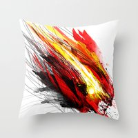 Speed & Velocity Throw Pillow