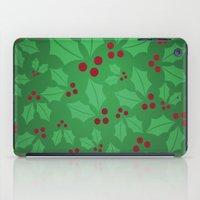 Holly Jolly Christmas iPad Case
